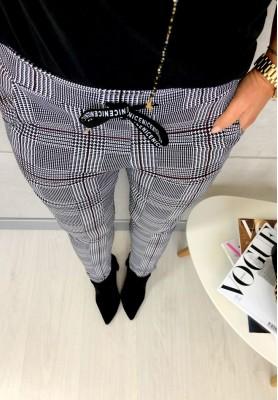 Spodnie Krata Chloe Black