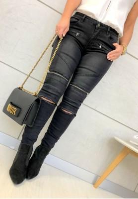 2158 Spodnie Nicki Black