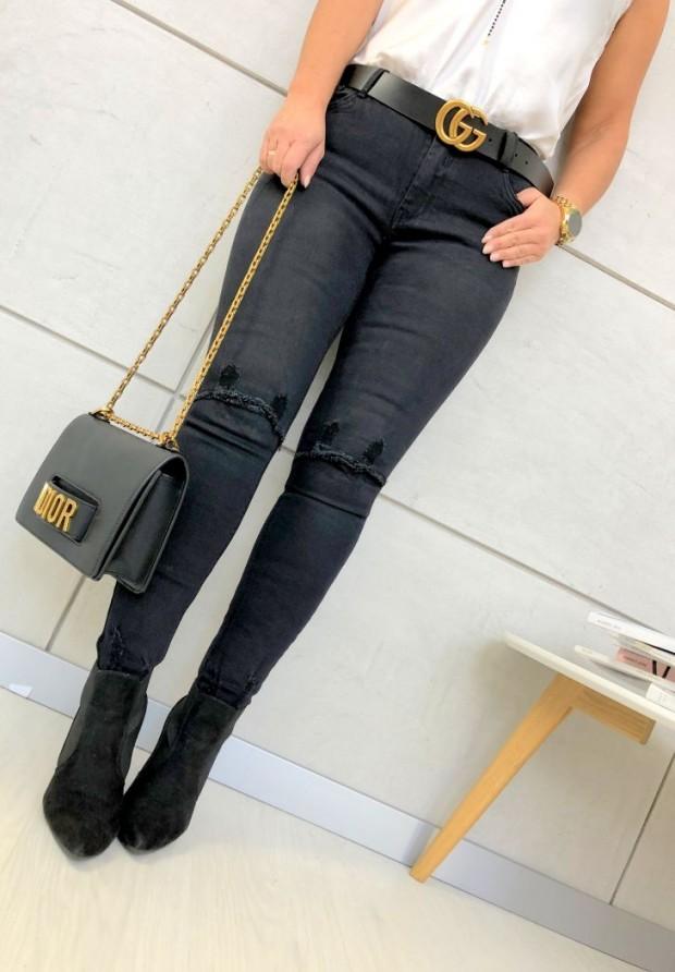 2020 Spodnie Rennes Black