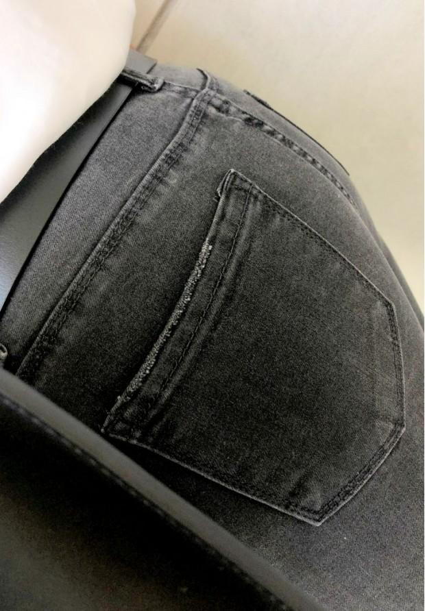 1667 Spodnie Class Dark Grey