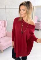 19 Sweter Aida Marsala