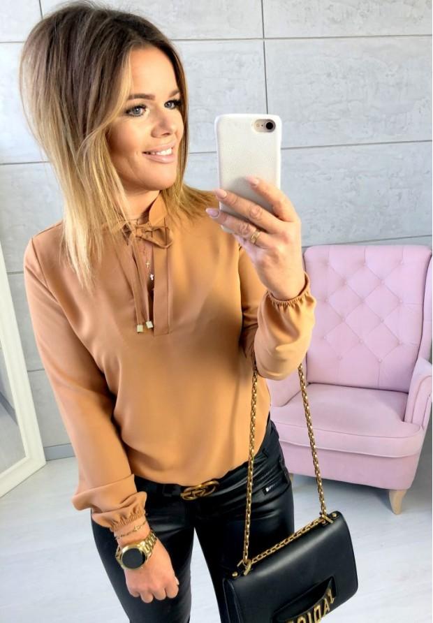 Koszula Simona Camel