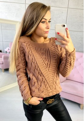 Sweter Livi Camel