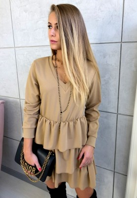 Sukienka Chicka Camel
