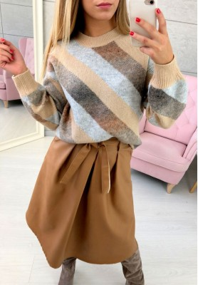 Sweter Matricce Camel