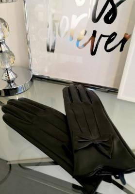 Rękawiczki Bow Black
