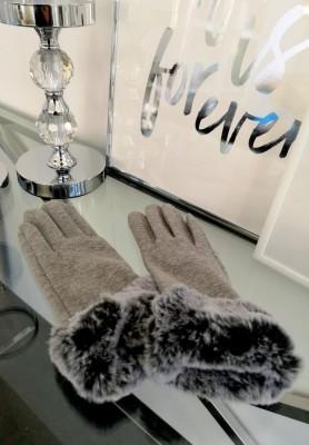 Rękawiczki Daisy Grey