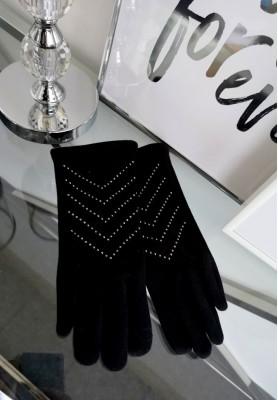 Rękawiczki Fir Czerń