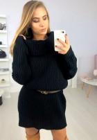 Sukienka Sweter Santiago Czerń