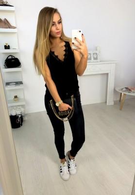 2092 Spodnie World Black