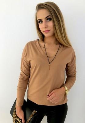 Bluzka Basic Camel