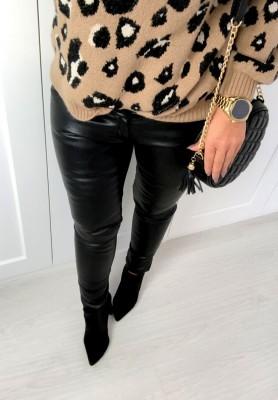 Spodnie Ribbon Black