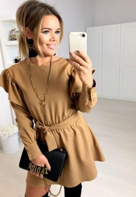 Sukienka Sheraton Camel