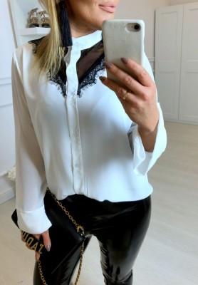Bluzka Koszula Sheer