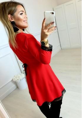 Sukienka Leder Czerwień