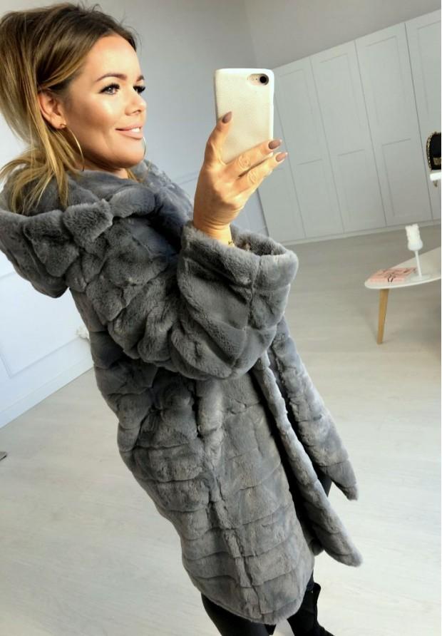 Futro Casual Grey