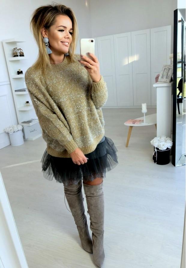 Sweter Glory Camel