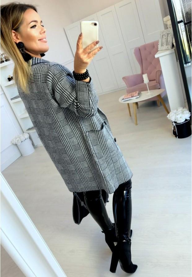 Sweter Płaszcz Shiren Czarny