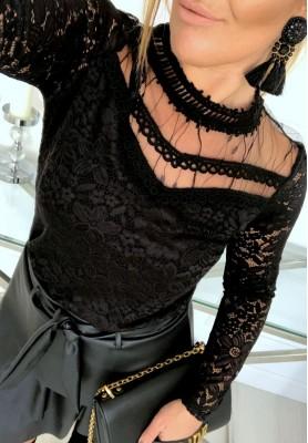 Bluzka Karen Czerń