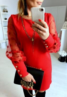 Sukienka Diana Czerwień