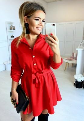 Sukienka Innocent Czerwień