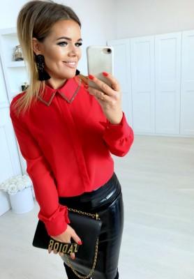 Koszula Lorena Czerwień