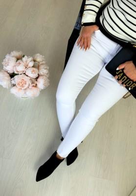 2123 Spodnie Eris White