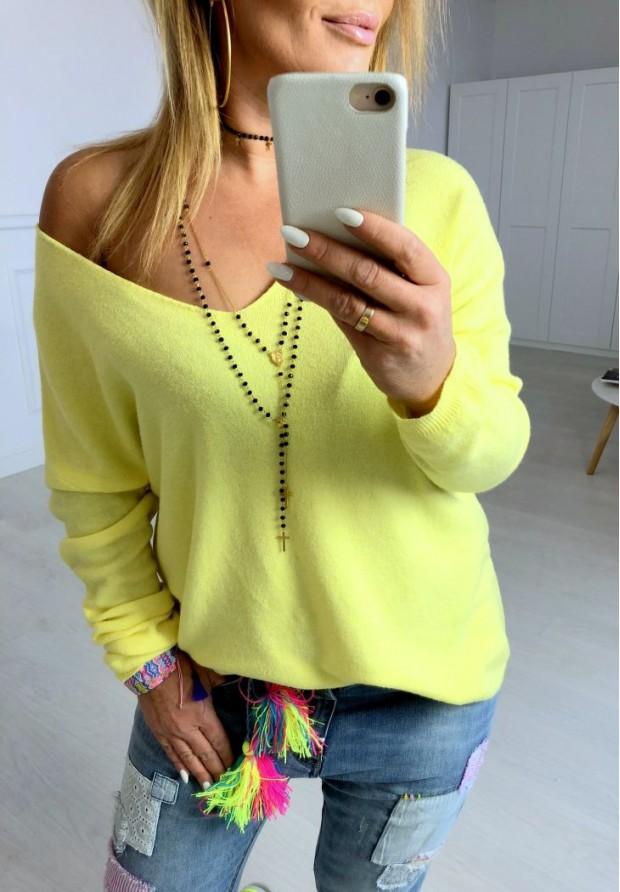 Sweter Parma Żółty