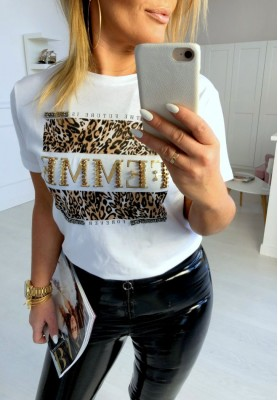 T-shirt Femme White