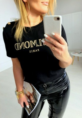 T-shirt Belmond Paris Black