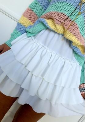 Spódnica Fiesta Biała