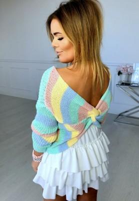Sweter Rainbow