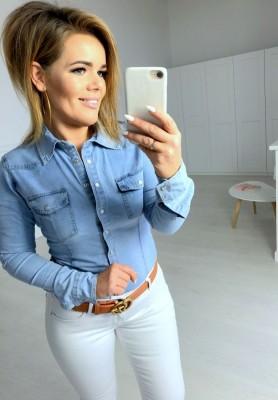 5133 Koszula Jeans Light