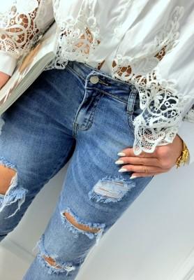 6039 Spodnie Boho Jeans