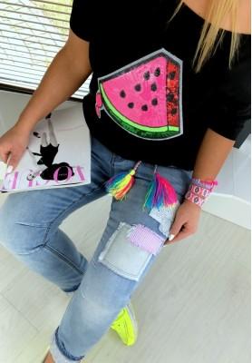 T-shirt Watermelon Black