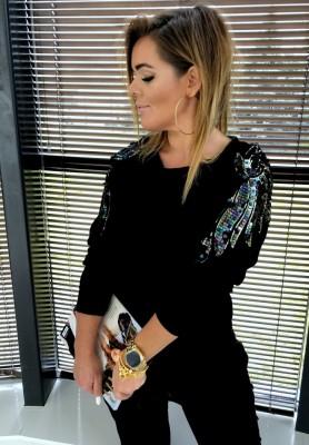 Bluza Glamour Czarna
