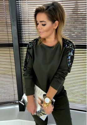 Bluza Glamour Khaki