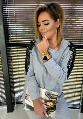 Bluza Glamour Szara