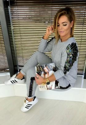 Spodnie Glamour Szare