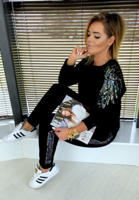 Spodnie Glamour Czarne