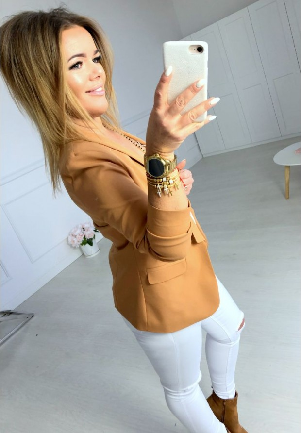 Marynarka Chloe Camel