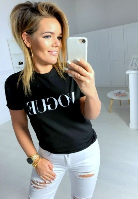 T-shirt Vogue Black