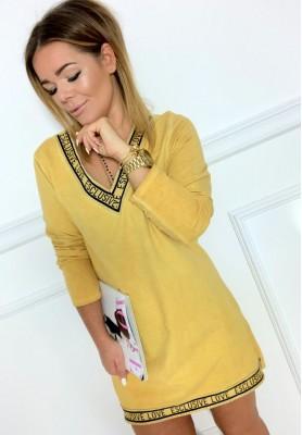 Sukienka Loves Żółta
