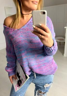 Sweter Loewe Fiolet