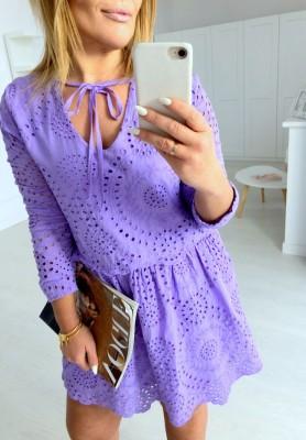 Sukienka Boho Libre Fiolet
