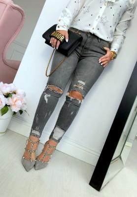 9205 Spodnie Opium Grey