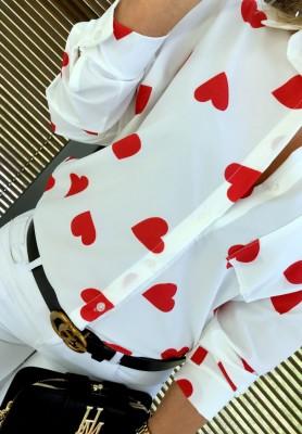 Koszula Hearts Red