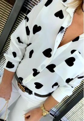 Koszula Hearts Black