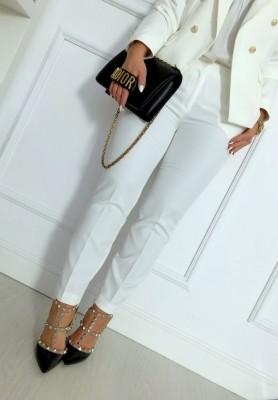 Spodnie Cover Ecru