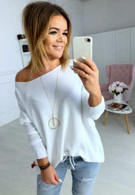 Sweter Pastellove Biały